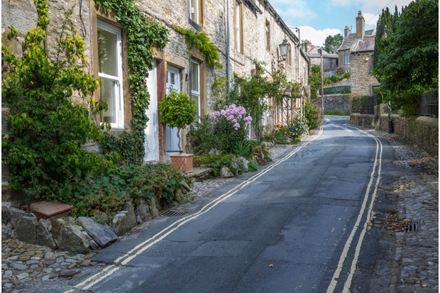 After a paddle in the river, grab a coffee in the village of Grassington, Yorkshire Dales