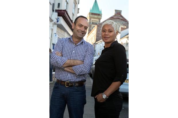 16/09/2016 Pics (C) HUW JOHNMANDATORY BYLINE - Huw John, CardiffAbergavenny Food Festival - Chef's Jose Pizarro and Monica Galetti opened the Festival (6pm Friday)mail@huwjohn.comwww.huwjohn.comM: 07860 256991