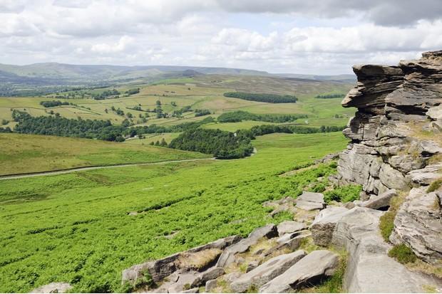 Hathersage Moor Derbyshire