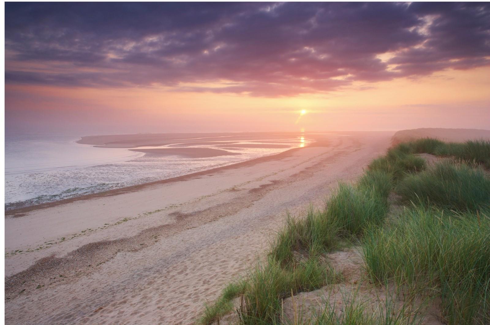 Holkham Bay on the North Norfolk