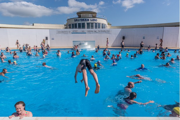Saltdean Lido, East Sussex re opened to the public after a 7 year restoration project. It is the only grade II listed Lido in the UK. First opening in 1938, it fell into disrepair closing in 1995 until today.