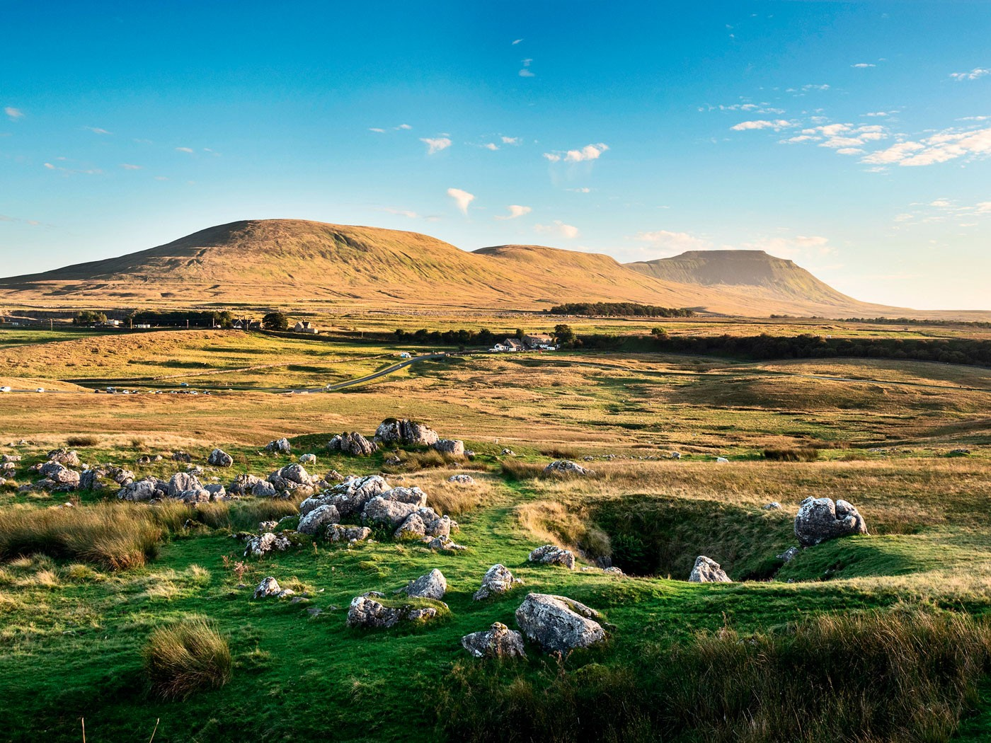 Ingleborough, Yorkshire ©Alamy