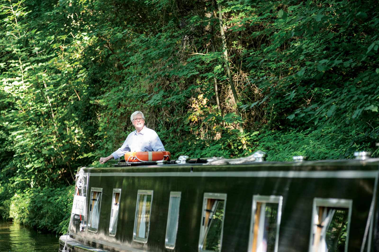 John Craven in Llangollen
