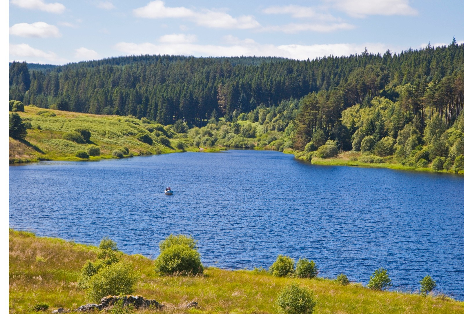 Kielder Water and forest, Northumberland