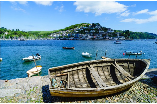 Catch the boat from Dartmouth to kingswear (pictured)