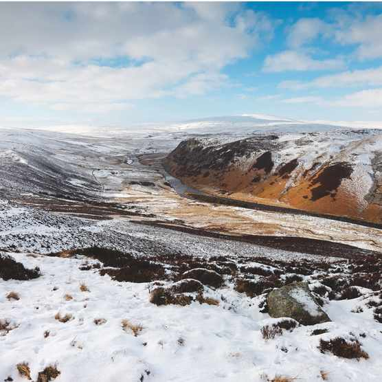 Langdon Beck, North Pennines Global Geopark, County Durham