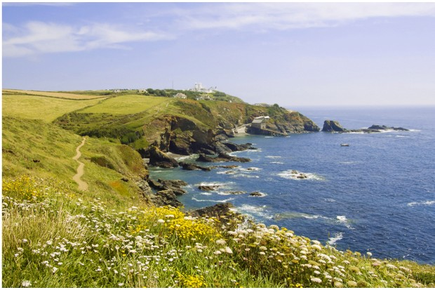 View back down the Lizard Peninsula ©Getty