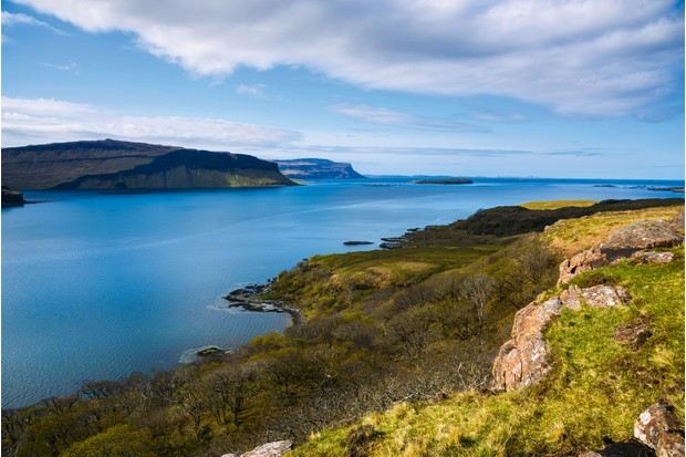 Loch na Keal – meaning Loch of the Kyle or Loch of the Cliffs – cleaves the Isle of Mull's western shores ©Getty