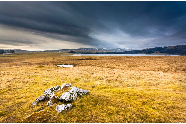 Malham tarn is a natural lake on high ground in the Yorkshire Dales.