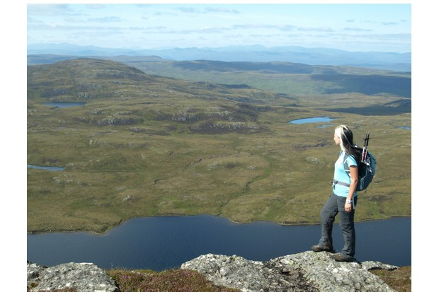 Climb Meal Fuar-mhonaidh for views over Loch Ness and down the Great Glen