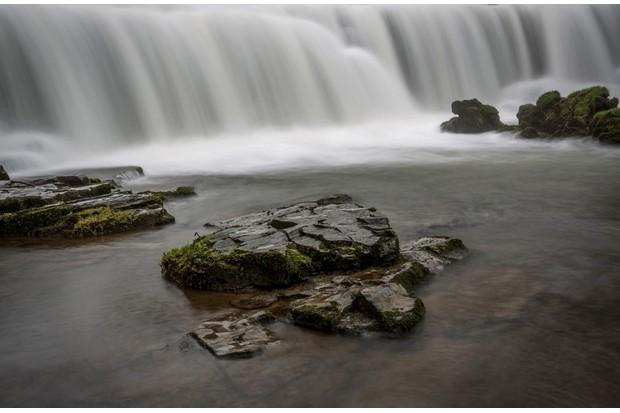 Monsal Weir Near Monsal Head In The Peak District UK