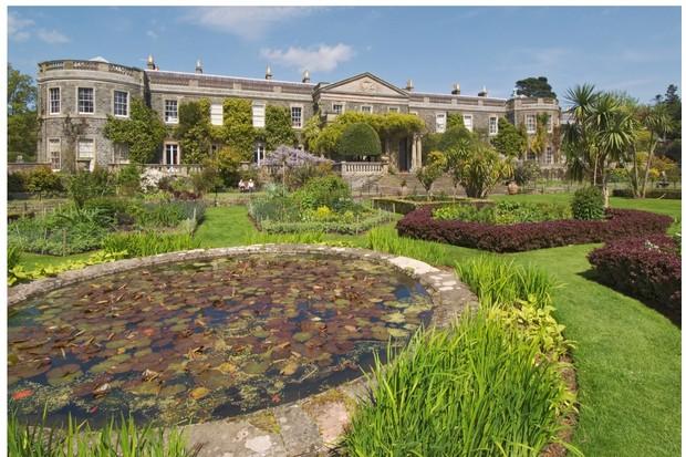 Northern Ireland Newtownards Mount Stewart House and Italian Garden