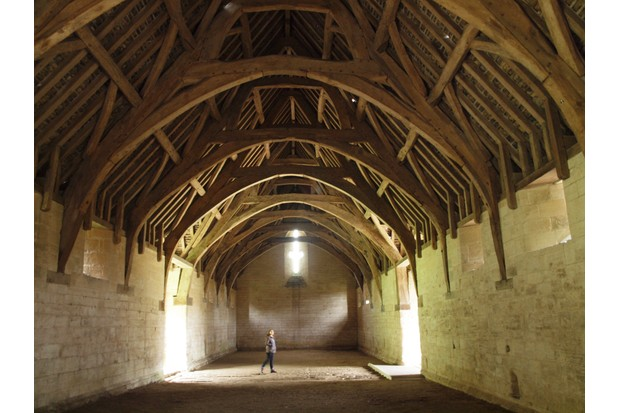 Medieval Tithe Barn, Bradford-on-Avon