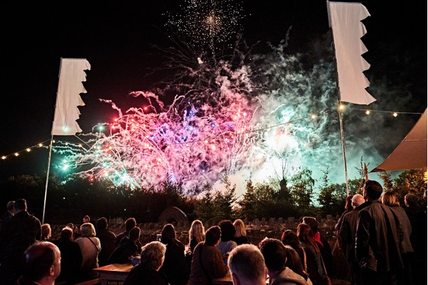 Party at the Castle fireworks 15.09.18