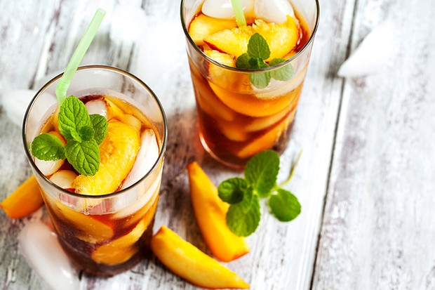 Peach Ice Tea. (Photo by: Anjelika Gretskaia/REDA&CO/UIG via Getty Images)