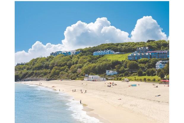 Porthmminster Beach, St Ives, Cornwall, England, Großbritannien