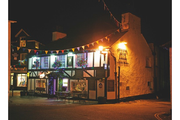 The Queens Head offers log fires and dog-friendly rooms