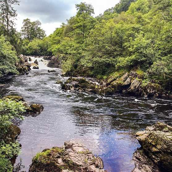 River Braan, Perthshire, Scotland