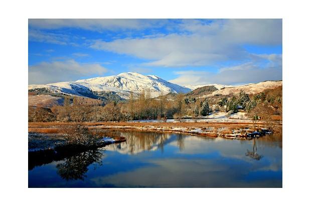 Schiehallion mountain in winter