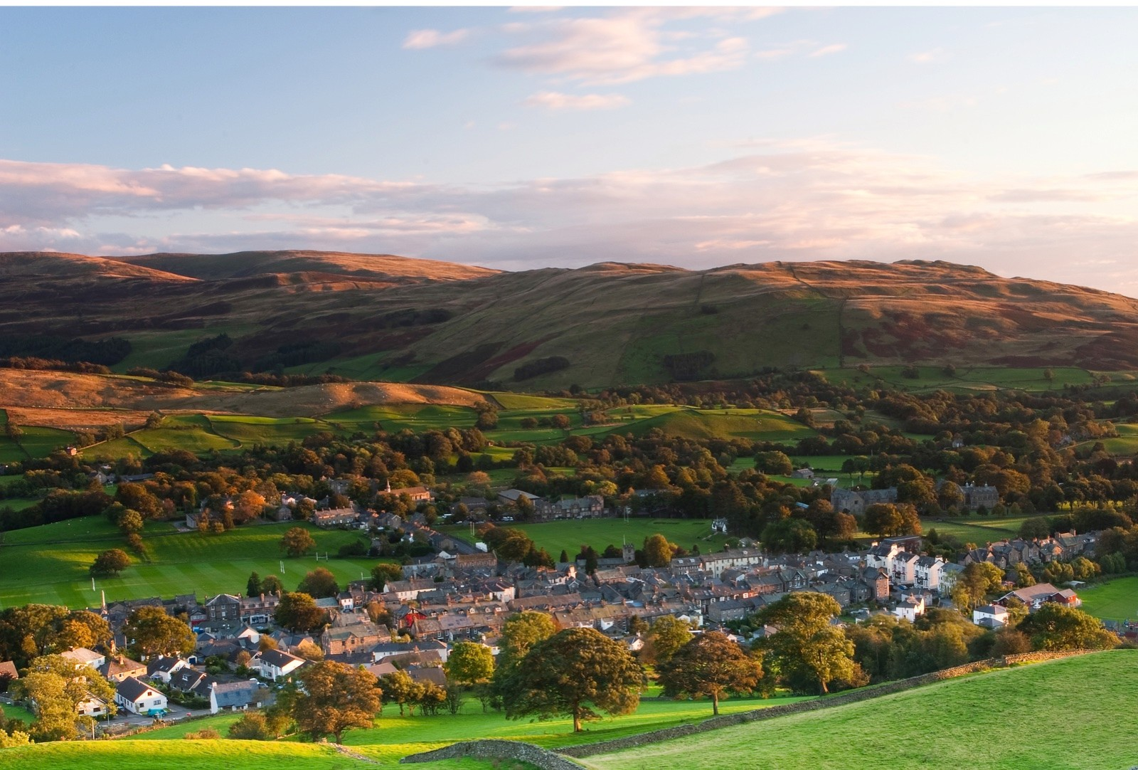 Sedbergh and Howell Fells