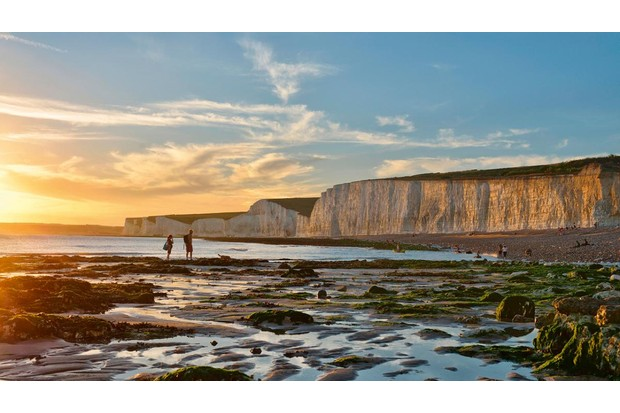 the Seven Sisters viewed from Birling Gap