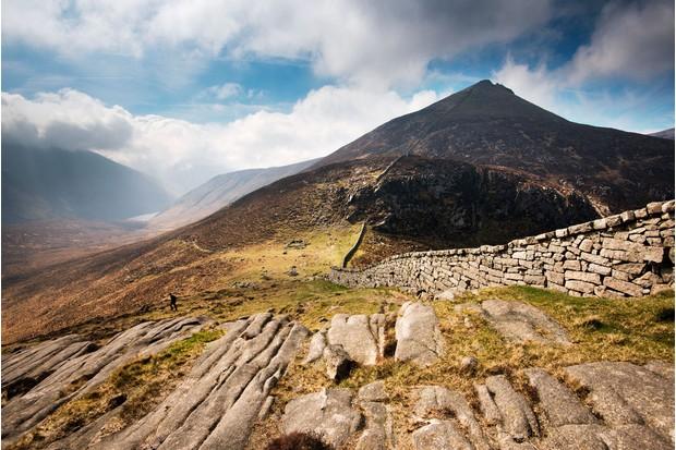 Sleeve Bearnagh, Mournes, Northern ireland