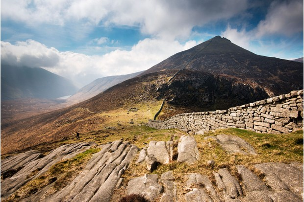 """It made me feel that at any moment a giant might raise its head over the next ridge,"" wrote CS Lewis  – the Mountains of Mourne were an important inspiration for the author's imaginary land, Narnia"