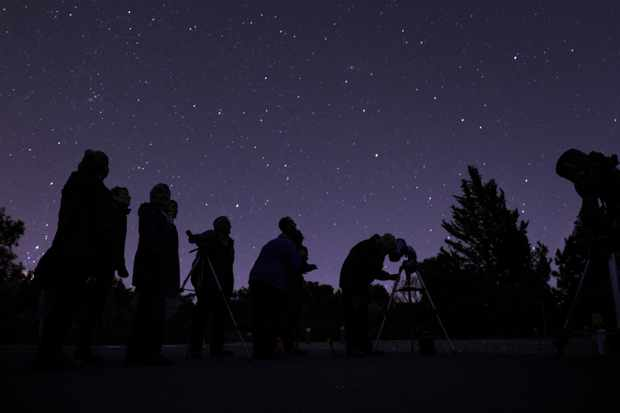 Stargazing shoot at Tyntesfield (NT magazine commission), November 2013.