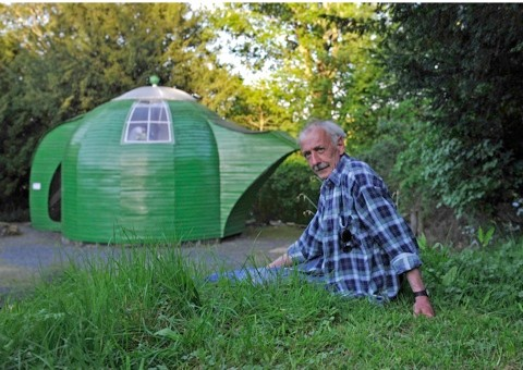 Ian Hunter from Roxburghshire, a finalist in the unique category of the 2014 Shed of the Year competition sponsored by Cuprinol for his Teapot shed. The shed has been selected from over 2,000 entries by more than 20,000 public votes. The winner will be announced during Channel 4's Amazing Spaces: Shed of the Year series, to be aired over three episodes, starting on 24th July at 8pm. As well as the prestigious title, the winner will receive £1,000 courtesy of sponsors Cuprinol and a commemorative winners wooden plaque for their shed.