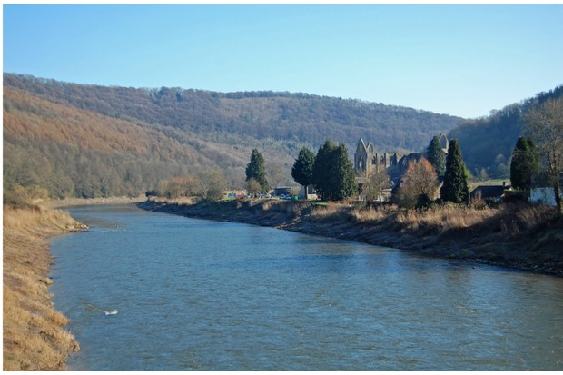 The River Wye and Tintern Abbey