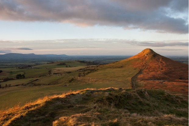 Taken from Little Roseberry looking towards the iconic Roseberry topping at the Northern edge of the North Yorkshire Moors National park.