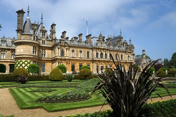 Exterior of Waddesdon Manor, a country house in the village of Waddesdon. Built in the Neo-Renaissance style of a French chateau for the Rothschild Family. Dated 21st Century. (Photo by: Universal History Archive/UIG via Getty Images)