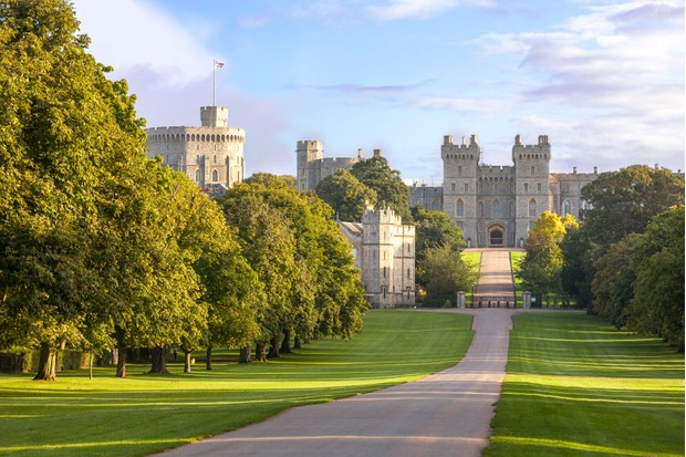 Windsor Castle driveway