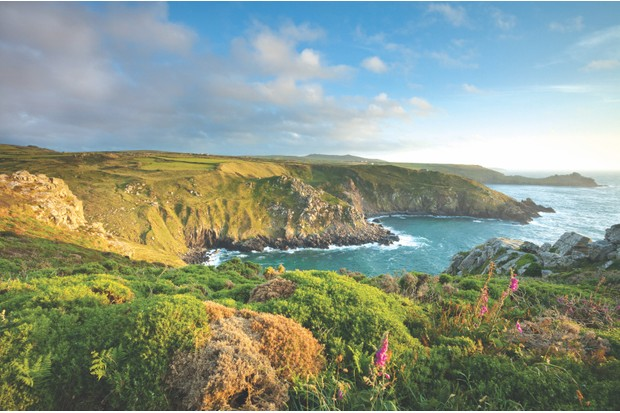 Evening on the North Coast of Cornwall