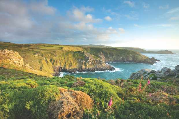 Evening at Zenor Head on the North Coast of Cornwall
