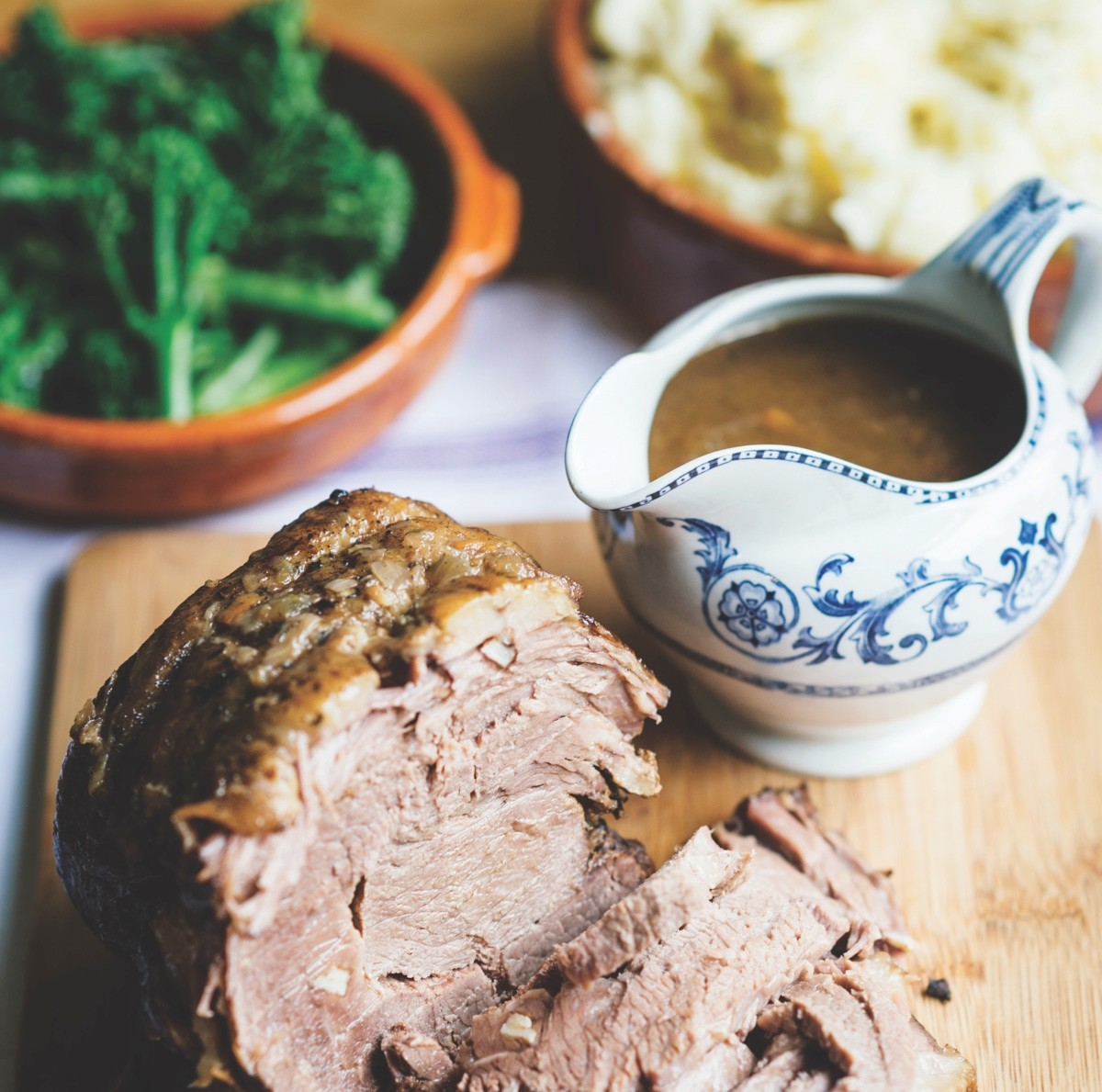 Roast brisket with wine recipe