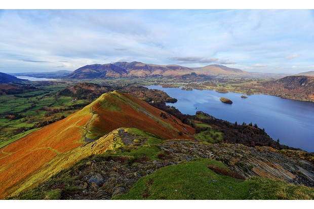 A view from cat bells,Cumbria,England