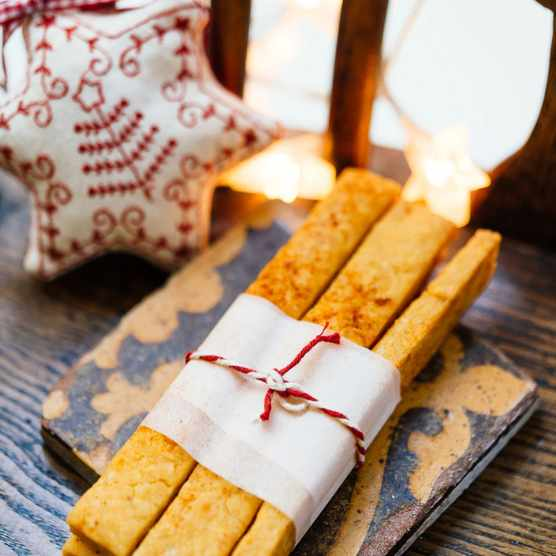 Christmas baking - cheese straws recipe