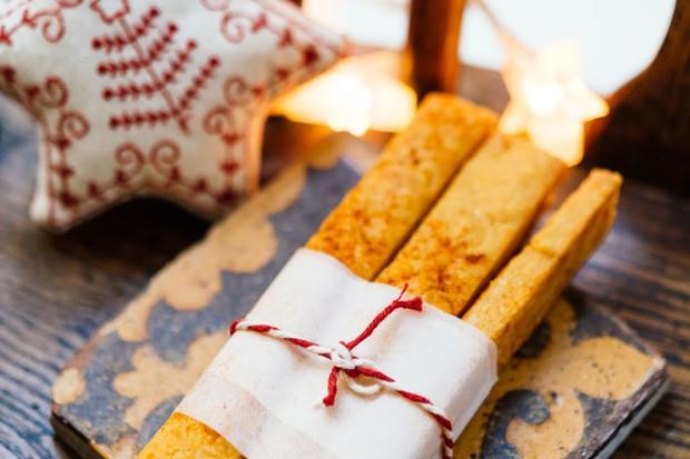 Christmas baking - cheese straws recipe