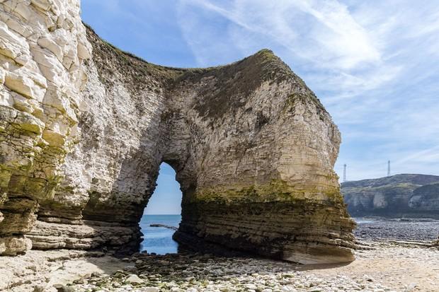 An arch at Flamborough Head