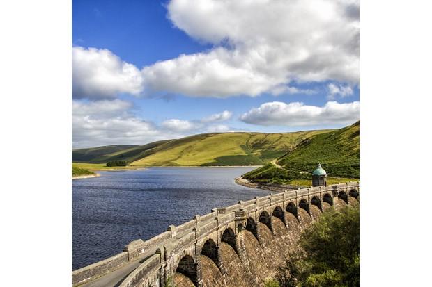 Reservoir and bridge
