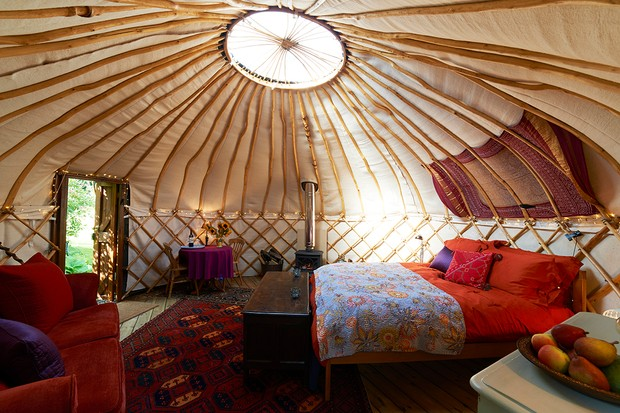 The rising phenomenon of glamping - glamorous camping