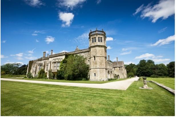 Lacock Abbey in Wiltshire, England