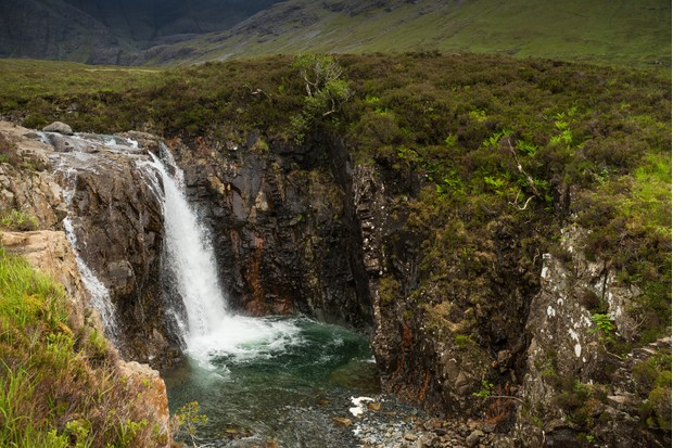Fairy pools waterfalls, isle of Skye, Scotland