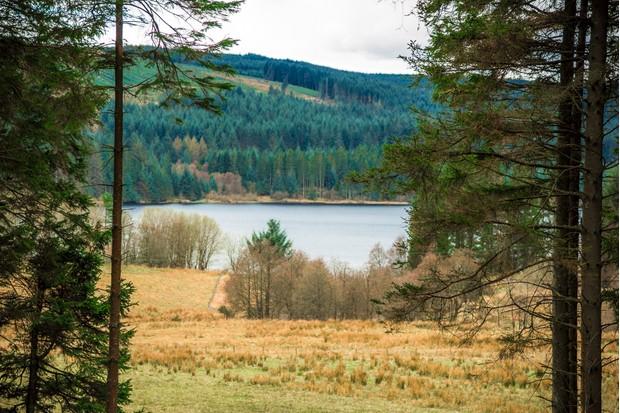 Kielder reservoir, Northumberland