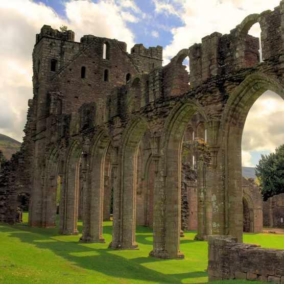 Llanthony Priory, Wales