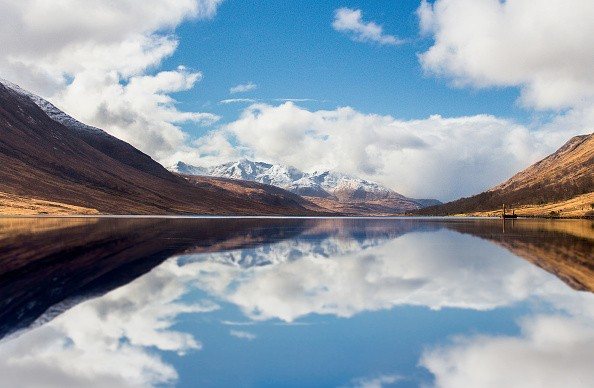 "*** EXCLUSIVE ***  LOCH LOMOND, SCOTLAND - UNDATED: Mirror image shot of loch etive, near oban in Loch Lomond, Scotland.  TWO brothers were left speechless, after capturing the Northern Lights on camera, in Scotland. Max Taylor Grant, caught the Aurora at the Firkin Point in Loch Lomond. The 25-year-old said: ""I was elated to get the picture. ""My brother and I have been trying to catch the lights for over a year now and to finally see it so clearly left us both speechless."" Max, a tour manager from Glasgow took the photograph using a Sony A7R camera and has had quite a reaction to his photograph online. He added: ""People love the Aurora especially as it's so rare in Scotland so we have had quite a fair bit of attention for the photograph!""  PHOTOGRAPH BY Fortitude Press / Barcroft Images  London-T:+44 207 033 1031 E:hello@barcroftmedia.com - New York-T:+1 212 796 2458 E:hello@barcroftusa.com - New Delhi-T:+91 11 4053 2429 E:hello@barcroftindia.com www.barcroftimages.com (Photo credit should read Fortitude Press /Barcroft Images / Barcroft Media via Getty Images)"
