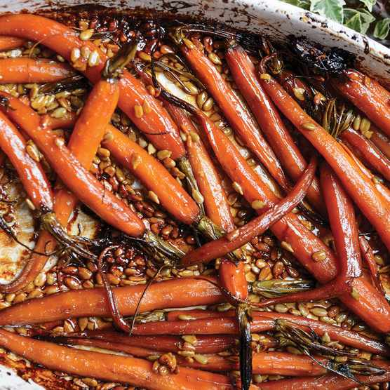 Malted carrots (Photo by: Jason Ingram)