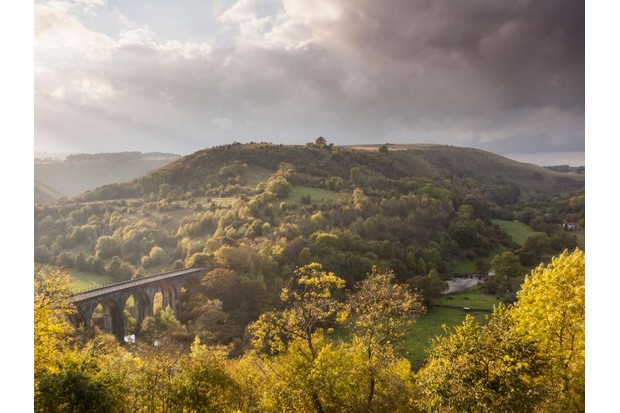 Ramble the high tracks and waterside paths of Monsal Dale to revel in an explosion of seasonal colour