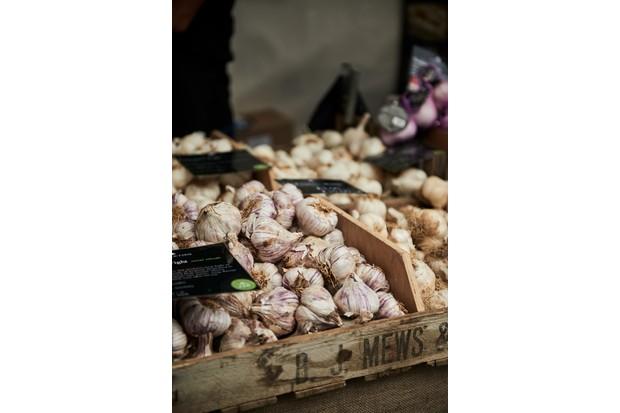 garlic isle of wight abergavenny food festival